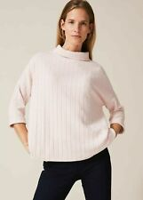 Ladies Assorted Colour Turtle Roll Neck Cotton Long Sleeve T-Shirt Top Sizes M/&L