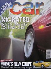 CAR 11/1996 featuring Jaguar, BMW 840Ci, Aston Martin, Porsche, Mercedes, Volvo