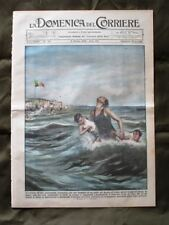 La Domenica del Corriere 6 Ottobre 1935 Salvataggio Pirenei catalani Duomo Como