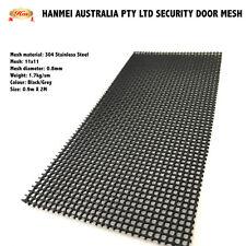304 & 316  Stainless Steel  Security door window mesh