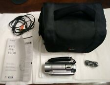 Canon FS100 Digital Video Camcorder,lowepro With  Carrying Case