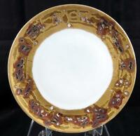 "THOMAS SEVRES BAVARIA GOLD NUGGET RIM 9"" LUNCHEON PLATE 1908-1939"