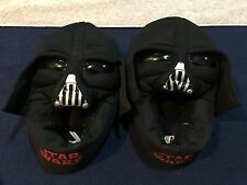 Star Wars Darth Vader Size 13 / 1 black boys slippers Good Condition! Free Ship
