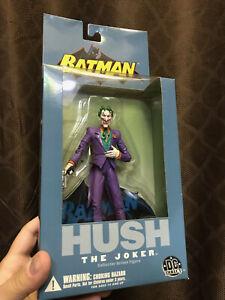 "DC DIRECT BATMAN HUSH - JOKER [ WAVE 1, 2004 ] 7"" Figure OR Lot, RARE, Brand New"