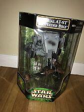 Hasbro Star Wars Power of the Jedi Imperial AT-ST & Speeder Bike NIB
