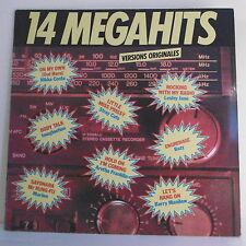 "33T 14 MEGAHITS Disque LP 12"" Nikka COSTA STRAY CATS Lesley JANE IMAGINATION"