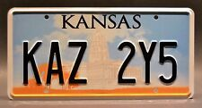 Supernatural / Dean's Metallicar / KAZ 2Y5 *STAMPED* Replica Prop License Plate