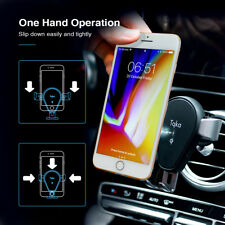 Wireless Car Charger Mount Qi Automatic Charging Air Vent Cell Phone Holder KA27