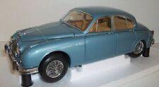 Paragon 1/18 Scale - PA-98321R Jaguar Mk2 1962 3.8 Opal Silver Blue RHD