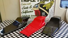 FLAT TRACK SEAT UNITS STREET TRACKER /SCRAMBLER,CHOICE OF COLOURS