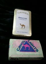 Camel Special Lights Match Tin with Unopened 50 book Camel Matches 1992