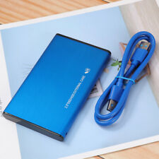"2.5"" USB 3.0 1TB/2TB External Hard Drive Disk HDD Box High Speed For PC Laptop"