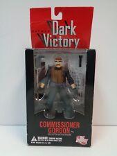 "DC Direct COMMISSIONER GORDON - Batman Dark Victory - 6"" Action Figure - MIB"