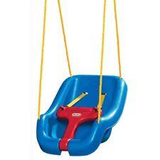 Little Tikes Outdoor Swing Toddler Baby Indoor Snug N Secure Blue Play Set