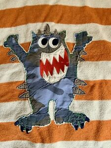 Pandemonium  Child's Monster Beach Poncho Cover Up One Size