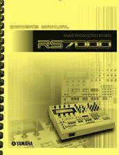 Yamaha RS7000 Music Production Studio OWNER'S MANUAL
