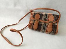 Atmosphere Primark Mini Small Crossbody Shoulder Bag Handbag Tartan Brown