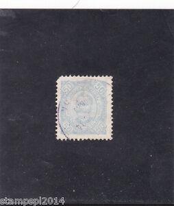 ANGOLA D. CARLOS I 50 REIS , Perf . 11,5 porcelana  (1893-94