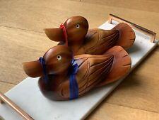 Korean Wedding Wooden ducks