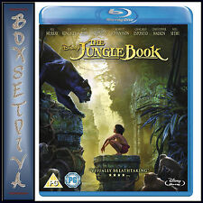 THE JUNGLE BOOK - DISNEY 2016 MOVIE   **BRAND NEW BLURAY**