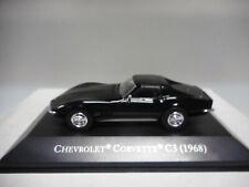 CHEVROLET CORVETTE C3 STINGRAY 1968 AMERICAN CARS ALTAYA IXO 1:43 NO MAGAZINE