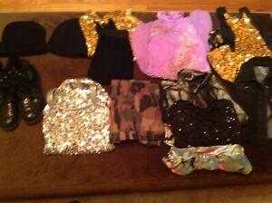 Lot of Balera and Weismann Dance Lot MC 10/12 Child size