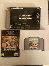 Star Wars Episode 1 Racer Nintendo 64 N64 OVP Guter Zustand