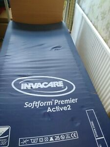 Invacare nursing bed and and Active 2 Airflow mattress