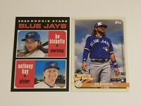 BO BICHETTE Rookie RC Lot (2) - 2020 Topps Heritage & Opening Day Spring Insert