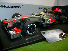 F1 McLAREN MP4-28 PEREZ #6 VODAFONE 1/18 MINICHAMPS 530131806 voiture miniature
