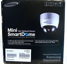 SAMSUNG Pan & Zoom 10X, Day & Night, 520TVL Mini Smartdome CCTV Camera... NEW!