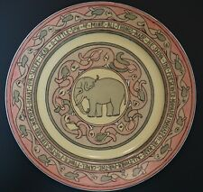 Mary Bacon Jones The Jungle Book Folk Design Plate for Guerin Limoges - H