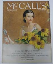 McCall's Sep 1933 Neysa McMein Cover