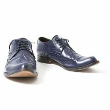 LIMI feu Wing tips Leather Shoes Size US About  6.5(K-35485)