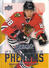 08-09 UPPER DECK MVP FIRST LINE PHENOMS #FL8 PATRICK KANE BLACKHAWKS *8221
