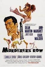 MURDERERS ROW Movie POSTER 27x40 B Dean Martin Ann-Margret Karl Malden Beverly