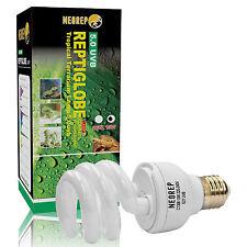 Reptile Compact Fluorescent Vivarium Lamp Light 5.0 UVB UVA UV 13W ES Screw