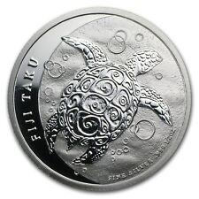 2013 New Zealand Mint $1 Fiji Taku 1/2 oz .999 Silver Coin