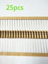 25pcs 100 Ohm 2w 2 Watt 5 Carbon Film Resistor Us Stock Sf