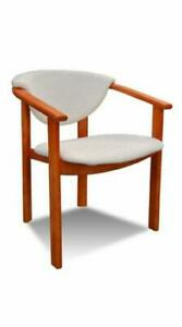 Solid Wood Chair Dining Room Designer Leather K27