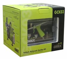 Grex GCK03 Airbrush Combo Kit with Tritium.TG3 Airbrush, AC1810-A Compressor