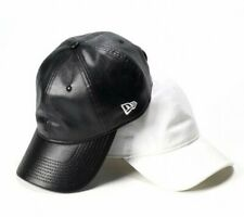 NEW ERA 9THIRTY Cross Strap Cap Synthetic Leather From Japan with Tracking