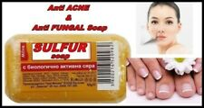 Sulfur Soap Anti Acne & Anti Fungal Soap with Bioactuve Sulfur 60 g