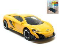 Majorette Mclaren 675LT Yellow 1:60 248B Wheel D5SB no Package free Display Box
