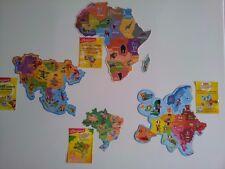 magnets ''brossard''  AFRIQUE  ,  ASIE, BRESIL, EUROPE