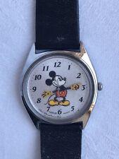 Vintage Walt Disney Productions LORUS Quartz Mickey Mouse Japan Wrist Watch