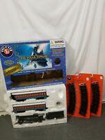 Lionel The Polar Express G Gauge Train & 12 Extra Tracks No bell
