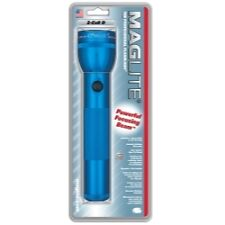 "Maglite S2D116 MagLite 2 ""D"" Cell Flashlight, Blue"