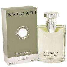 Bvlgari Pour Homme Eau De Toilette Spray for Men 3.4 Oz