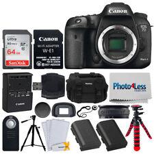 Canon EOS 7D Mark II Digital SLR Camera Body Wi-Fi Adapter Kit + 2x Tripod + Acc